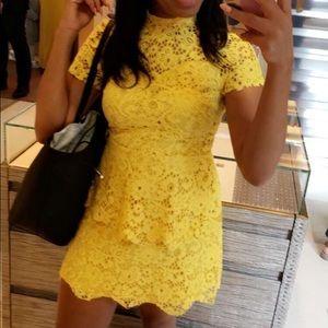 Missguided lace mini dress
